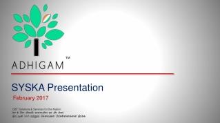 SYSKA Presentation February 2017