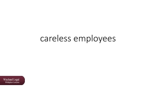 careless employees