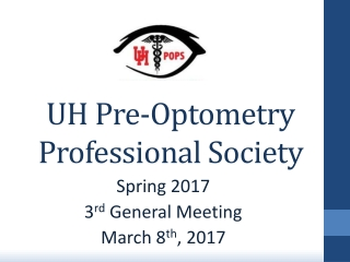 UH Pre-Optometry Professional Society