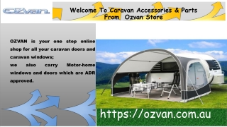 Supplier of high-quality caravan accessories & parts