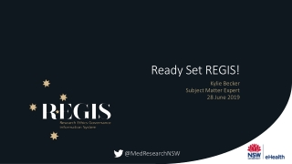 Ready Set REGIS!