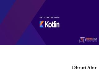 Dhruti Ahir