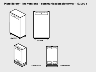 Picto library - line versions – communication platforms – iS3000 1