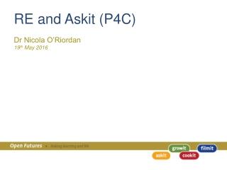 RE and Askit (P4C)