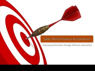 Sales Performance Automation