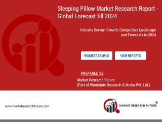 Sleeping pillow market size usd 15.35 billion by 2024