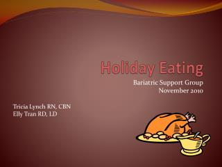 Holiday Eating