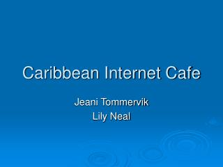Caribbean Internet Cafe