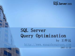 SQL Server  Query Optimization