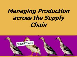 Managing Production across the Supply Chain