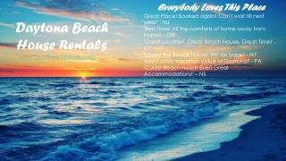 Daytona beach properties for rent
