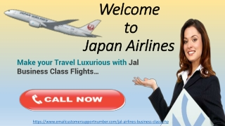 Jal Business class flight reservations