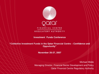 Investment Funds Conference