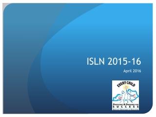 ISLN 2015-16