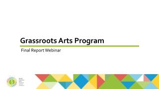 Grassroots Arts Program