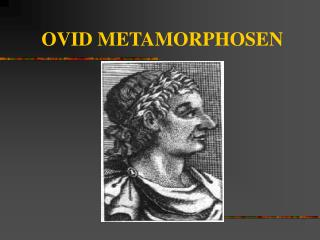OVID METAMORPHOSEN