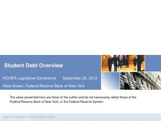 Student Debt Overview