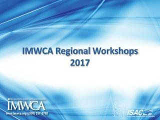 IMWCA Regional Workshops 2017