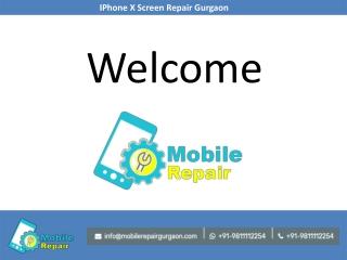 IPhone X Screen Repair Gurgaon