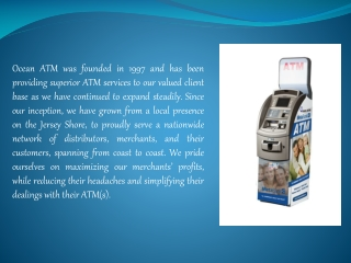 Ocean ATM Testimonial - Vipul Patel of Speedy Mart