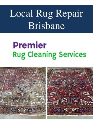 Local Rug Repair Brisbane