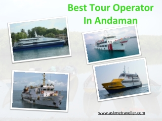 Best Tour Operator In Andaman