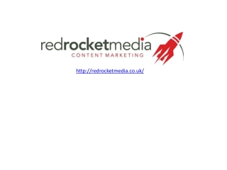 Red rocket media - Social media services