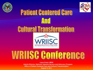 Patient Centered Care And  Cultural Transformation