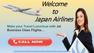 Jal Business class flight reservations online