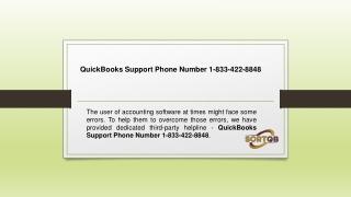 QuickBooks contact Number
