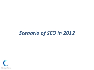 Search Engine Optiization in 2012