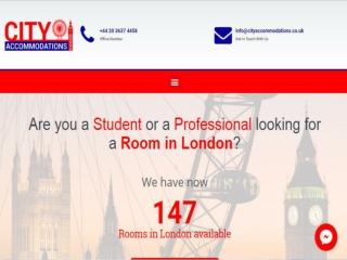 Rooms for Professionals London