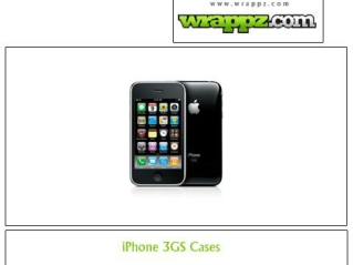Enhance the look of your iphone 3gs by designing its case