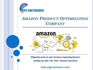 Amazon Product Optimization Company