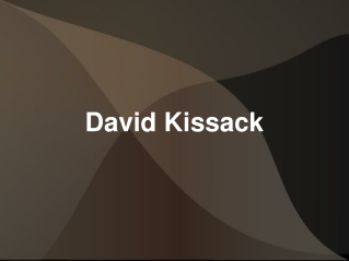 David Kissack – An Assiduous And Energetic Professional