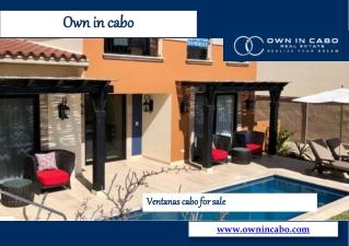 Ventanas Cabo For Sale