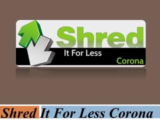 Document Shredder Service