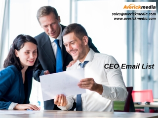CEO Email List | CEO Email Addresses