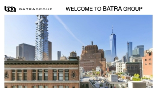 Investment Property New York - Batra Group