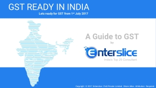 GST Registration Online in India - The Complete Process Guide PDF