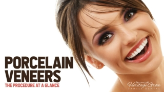 Porcelain Veneers - The Procedure At A Glance