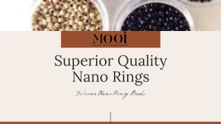 Superior Quality Nano Rings