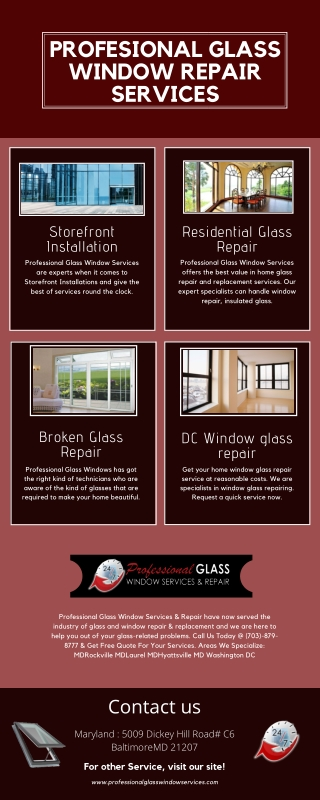 Finest Storefront Installation Services | Laurel MD