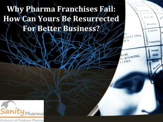 How Can Yours Be Resurrected For Better Business of Pharma?