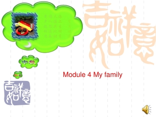 Module 4 My family