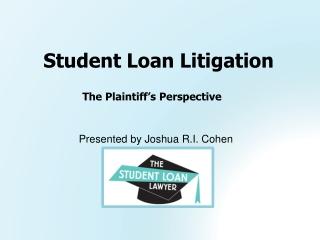 Student Loan Litigation