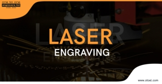 Laser Engraving on Various Metals at One to One Engravers Ltd