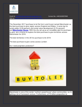 Best buy to let areas in manchester