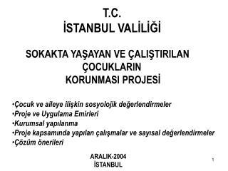 T.C. İSTANBUL VALİLİĞİ