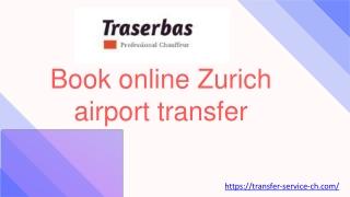 Book online Zurich airport transfer - Airport transfer zurich